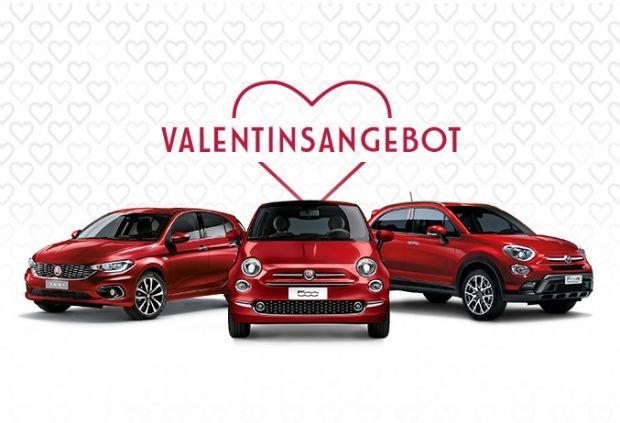Zum Valentinstag - Fiat verschenkt die Farbe der Liebe - Community ...