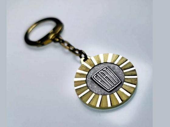 Original Fiat Schlüsselanhänger von 1954