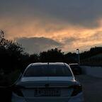 tramonto sulla costa dei trabocchi