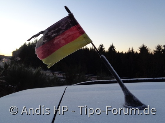 Morgens zwischen 7.30Uhr und 8.00Uhr in Deutschland
