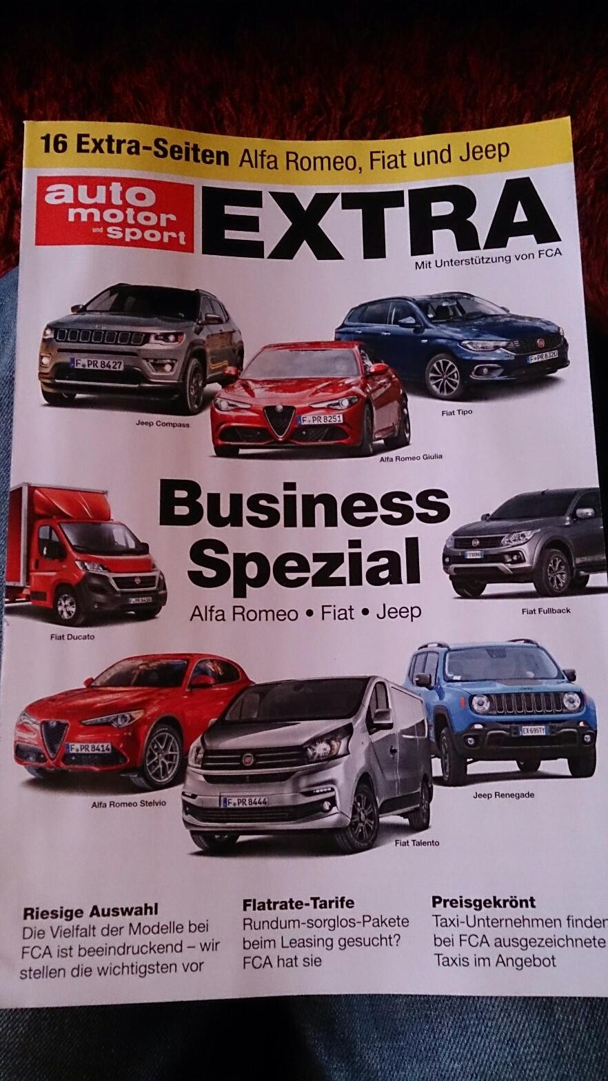 Business Spezial FCA