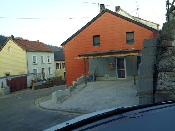 """Zufahrt zum """"Parkplatz"""""""