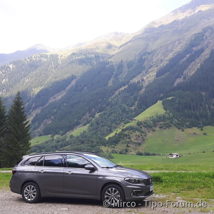 Mein Tipo im Urlaub in Österreich