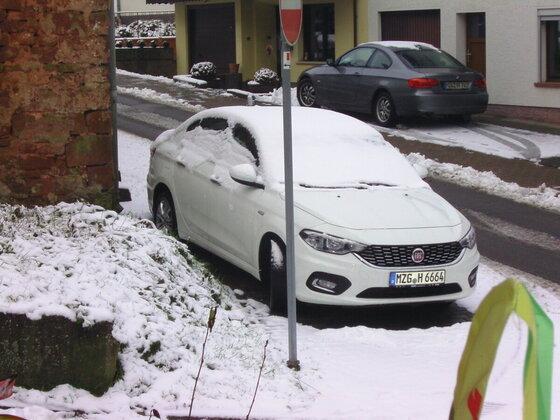9.30 Uhr in Deutschland. Der Schnee ist fast Vergangenheit...