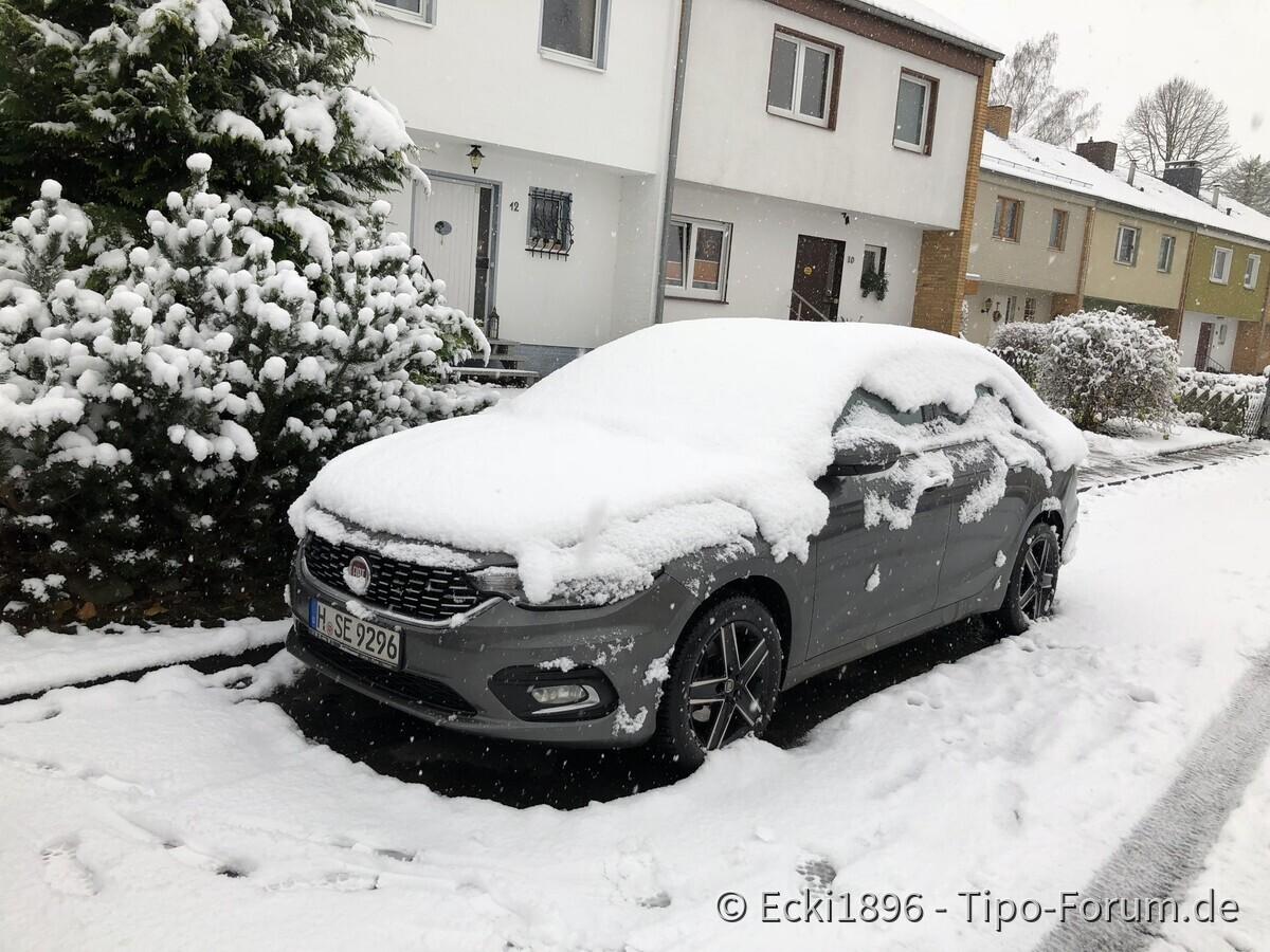 Der Winter ist da...