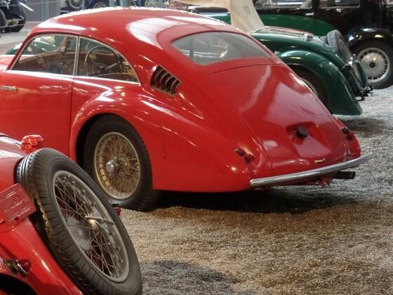 """Ein kleiner Auszug der beeindruckenden Exponate aus der Schlumpf Sammlung """"City de l'Automobile"""" in Mulhouse"""