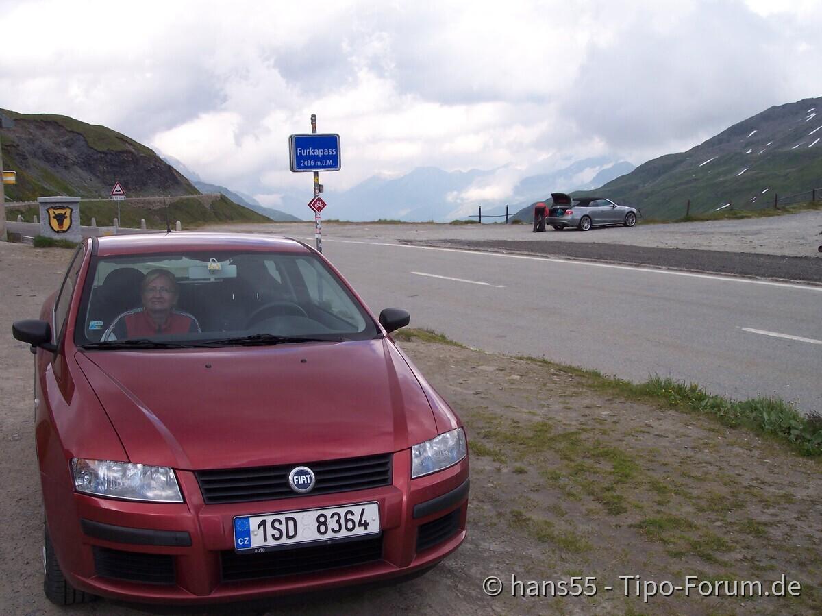 Auch der kleine liebt Alpen