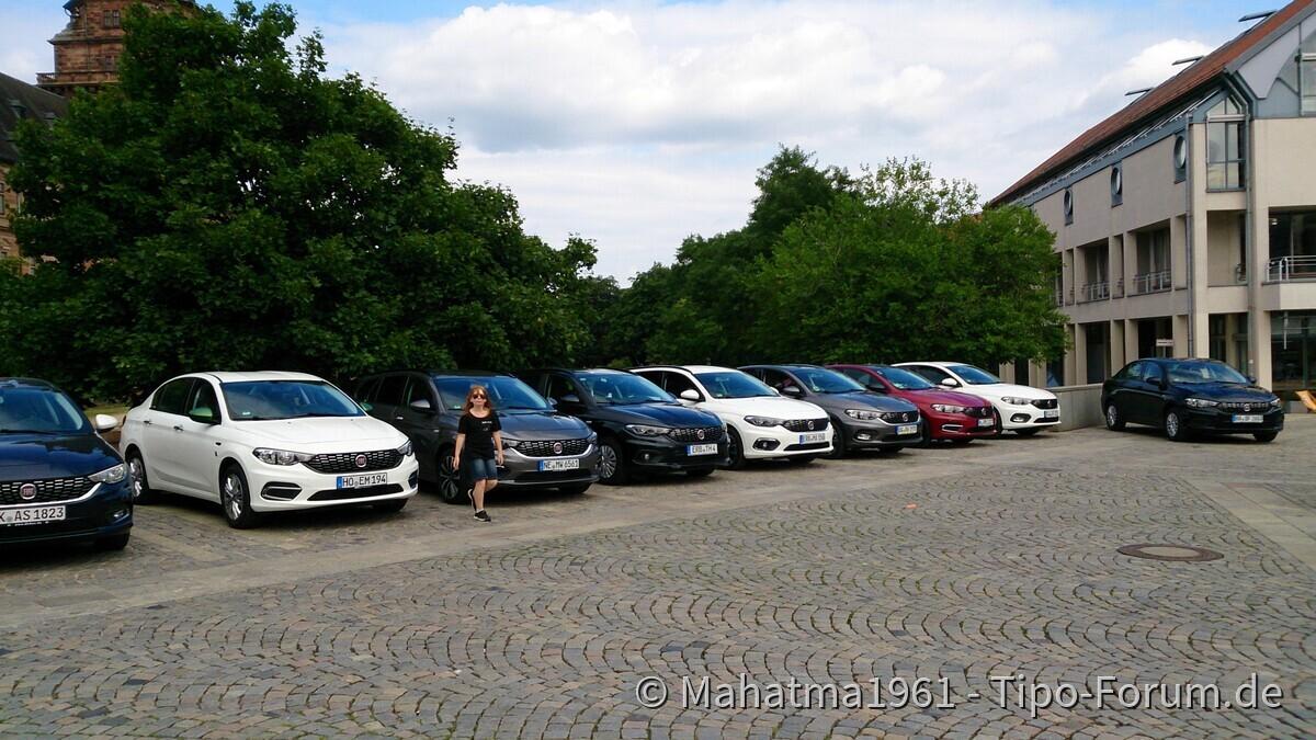 Tipo Treffen Aschaffenburg, Juni 2017