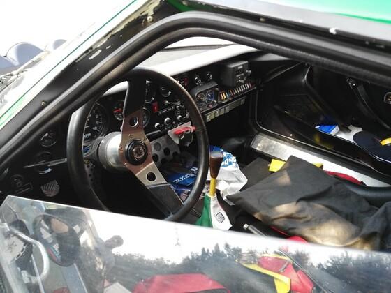 Lancia Stratos Innenleben