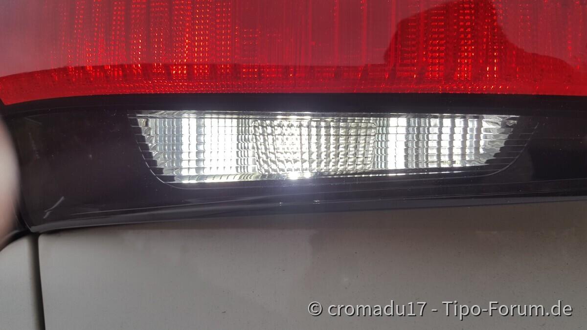 LED's für Rückfahrscheinwerfer