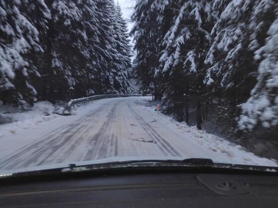 Verbindungsstraße Deutschland/Tschechien