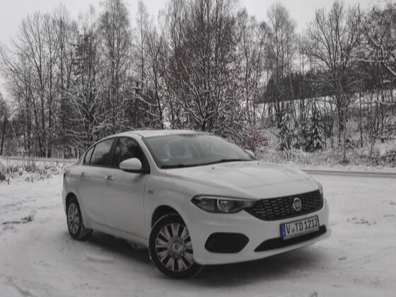 Wintereinbruch in CZ