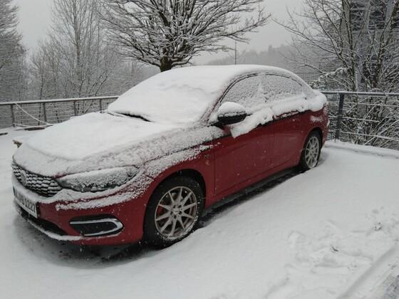 Schnee im Rheinland
