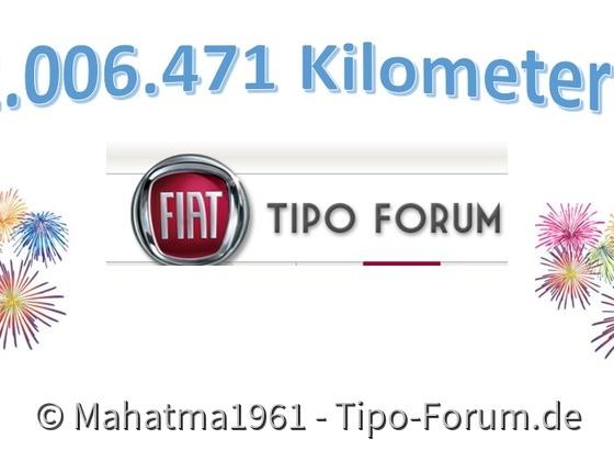 2 Millionen Tipokilometer