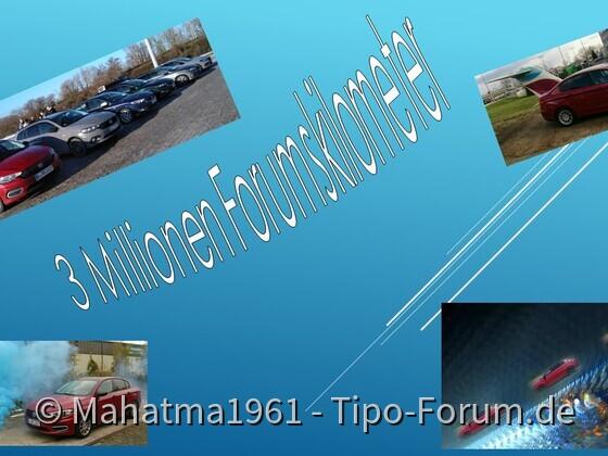 3 Millionen Kilometer