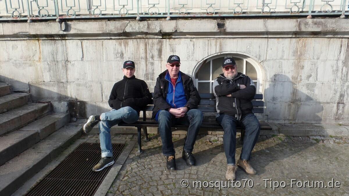 Tipo Treffen an der Classic Remise in Düsseldorf