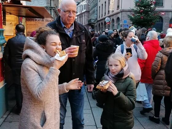 Mit der Tipo Clique auf dem Weihnachtsmarkt in Straßburg