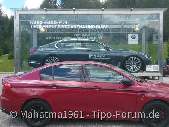 BMW gehört eingesperrt