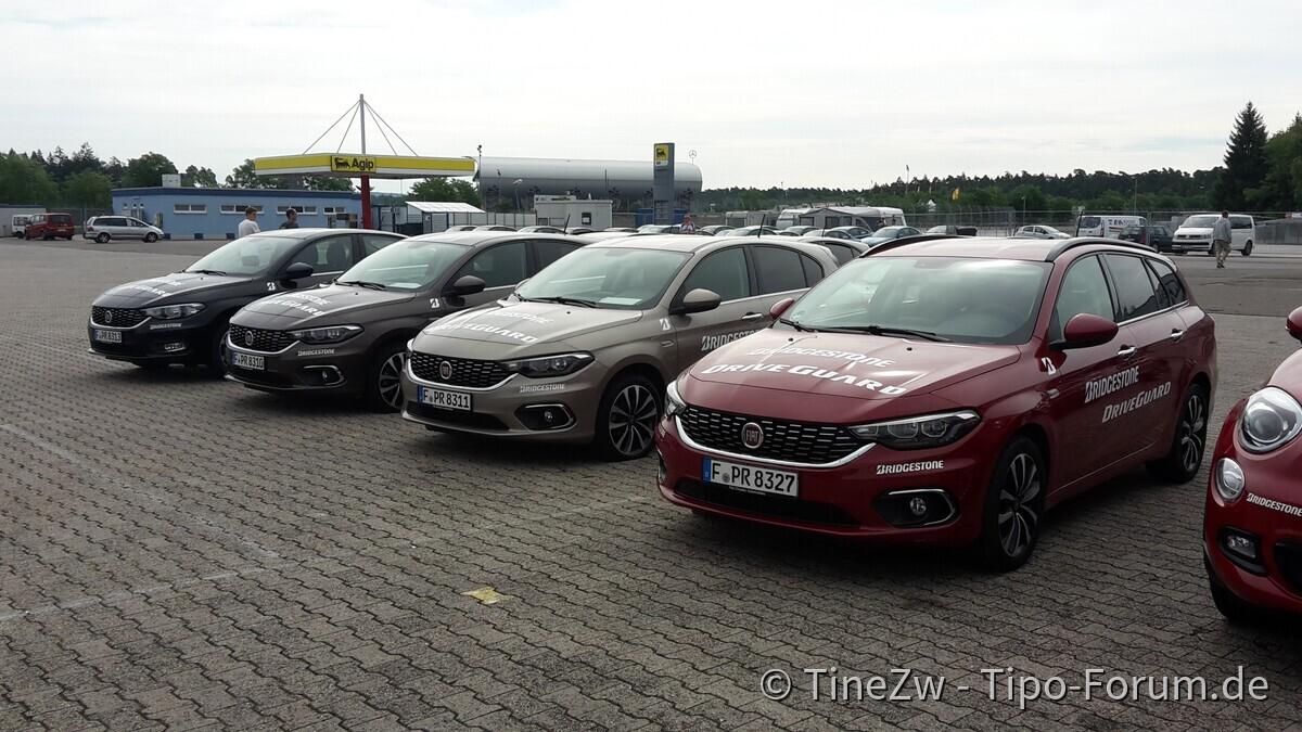 Drive Guard Tipos auf dem Hockenheimring