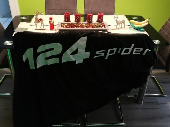 Original stretch Pyjama für den 124 Spider