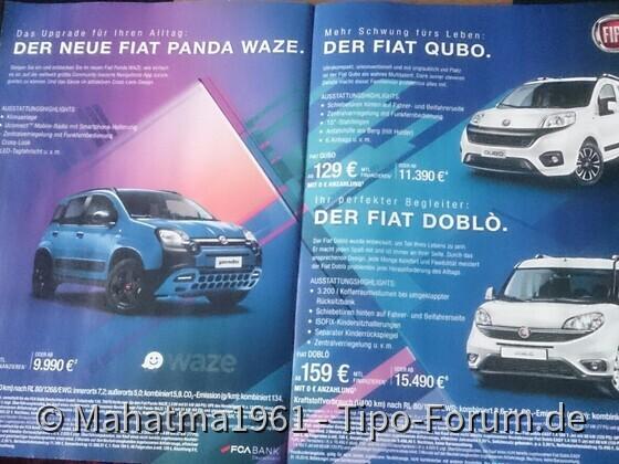 FCA Werbung
