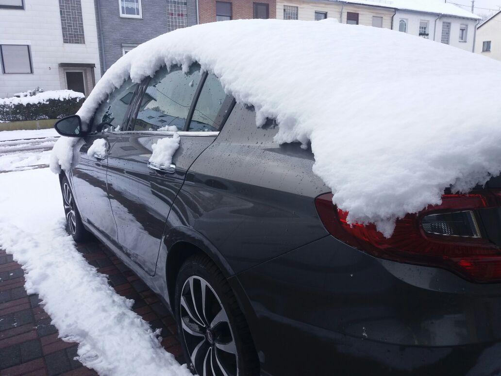 """""""leichte Schneefälle"""""""